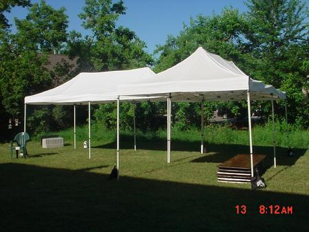 10X10 Instant Canopy & Party rentals Party Starters Lake Orion MI Products